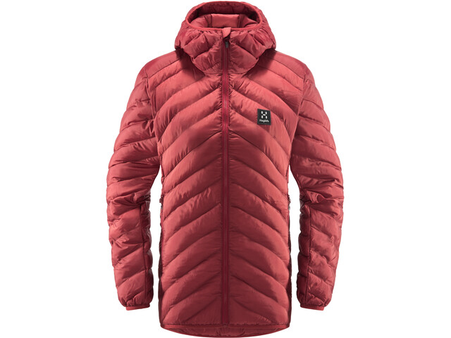 Haglöfs Särna Mimic Hood Dames, brick red